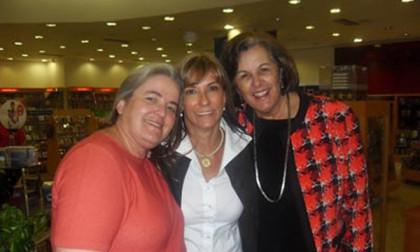 Lançamento do livro – Vera Israel, Evelise e Raquel
