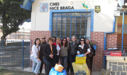 Pesquisa GAE 2010 CMEI Nice Braga Larissa, Mônica D, Sonia, Juliana, Evelise, Bea, Hilda, Silvia, Simone C, Ana Regina