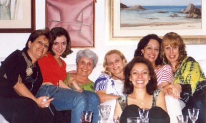 Natal GAE 2006 Sonia, Cica, Laura, Arlete, Simone C, Isabel, Vanessa