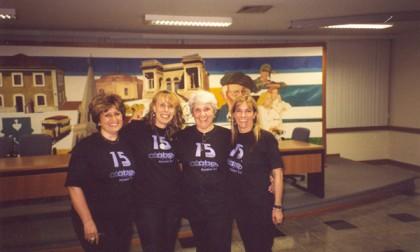 15 anos da ABPp Sonia, Isabel, Laura e Evelise