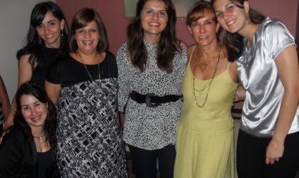 Natal GAE 2008 – Thalita, Katia, Lia, Simone Dreher, Evelise e Gabi